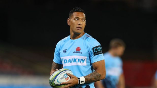 Israel Folau's legal representatives have filed an application to the Australian Fair Work Commission