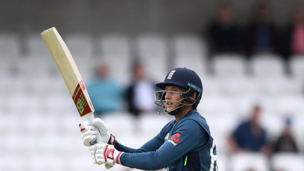 Joe Root top-scored for England with 84 from 73 balls