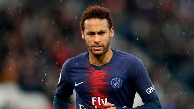 Brazilian forward Neymar has been heavily linked with a move away from PSG