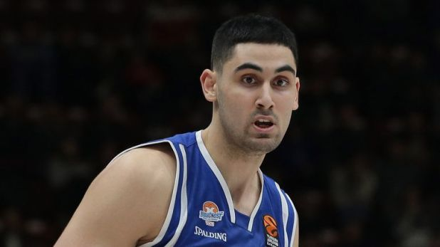 NBA Draft Goga Bitadze in action for Buducnost Voli Podgorica