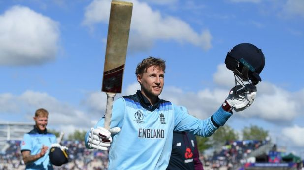 Joe Root has hit two centuries at this World Cup in just four innings