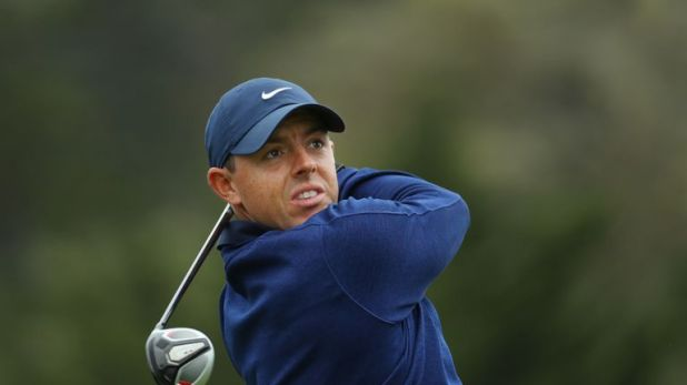 Rory McIlroy is five off the lead after 54 holes