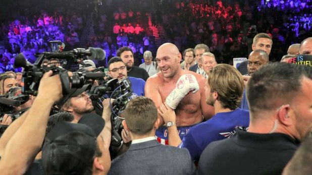 Tyson Fury expects to fight again in September or October