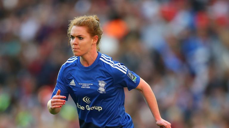 Manchester City sign Aoife Mannion from Birmingham City on
