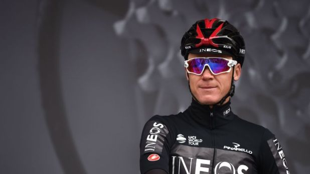 Chris  Froome is preparing for a return to competitive cycling