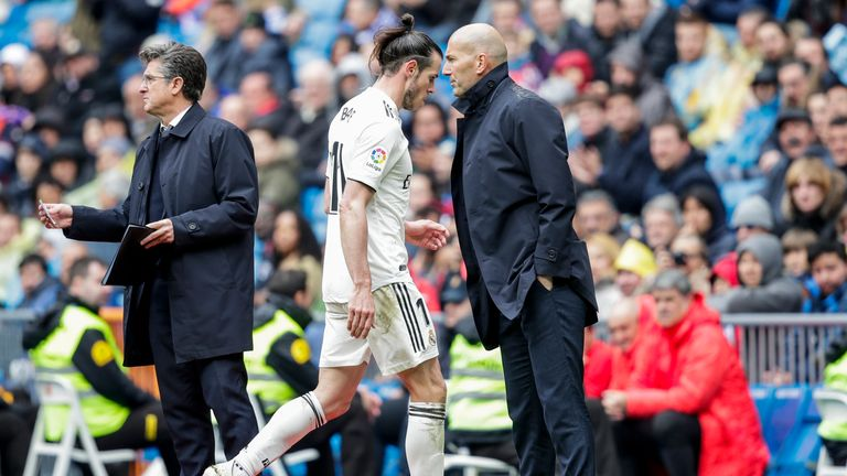 Bale has been told he can leave Real after falling out of favour under Zidane