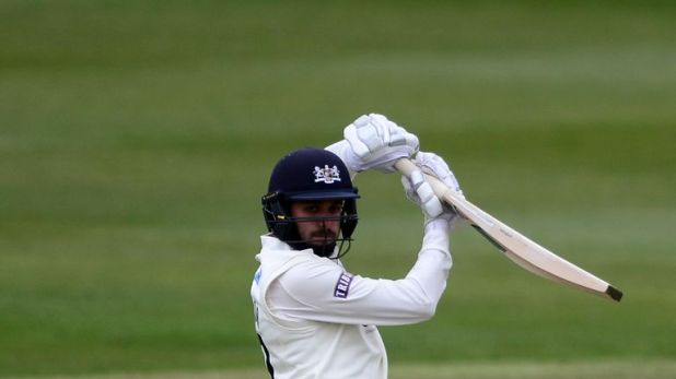 Gloucestershire's Jack Taylor fell one short of a century against Leicestershire