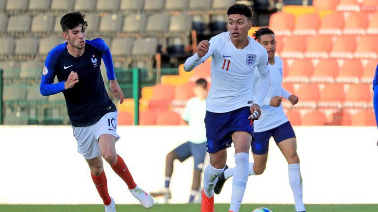 Morgan Rogers has represented England at U15, U16 and U17 level.