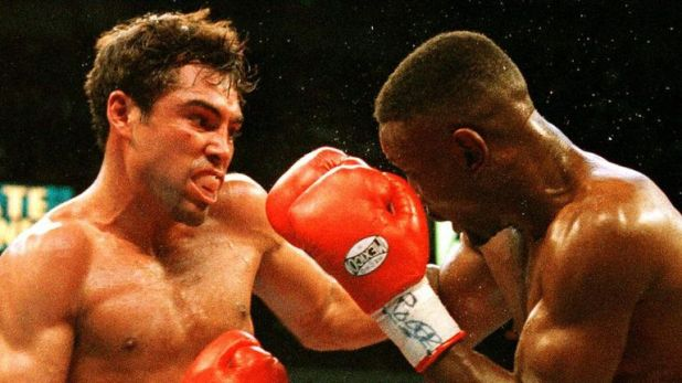 Whitaker lost his WBC welterweight title to Oscar De La Hoya in 1997