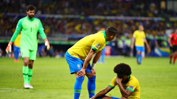 Willian missed the Gold Cup final after a hamstring injury in the semi-final