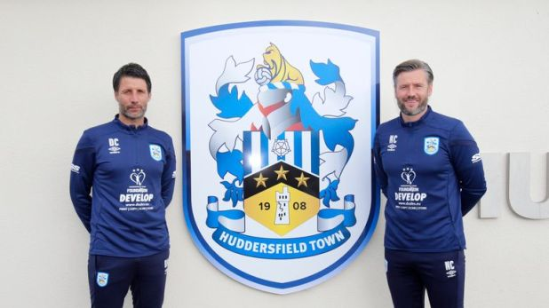 Danny (left) and Nicky Cowley have left Lincoln for a new challenge