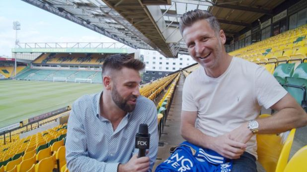 Former Norwich City player Darren Eadie on his depression after retirement