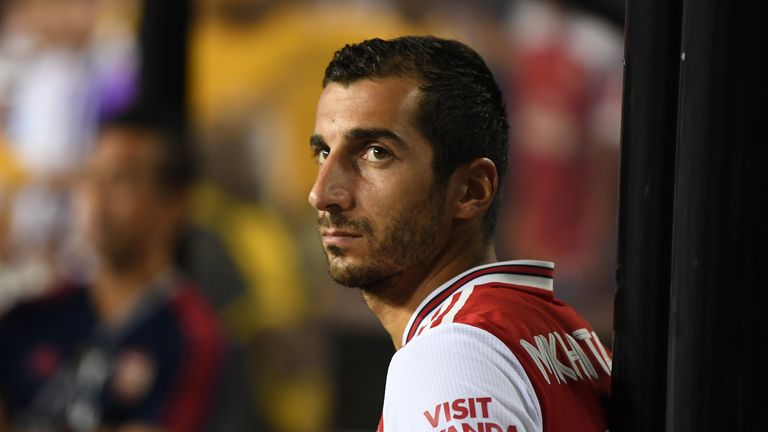 "Henrikh Mkhitaryan says he ""wasn't fitting in well in England"", after his move to Roma on loan"
