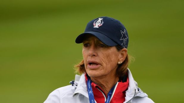 Juli Inkster is bidding to lead Team USA to a third straight win