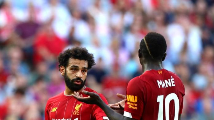 Will it be Sadio Mane or Mo Salah who starts on Sunday to the right of Liverpool's attack?