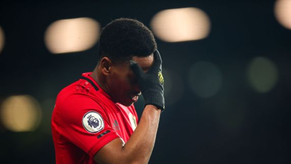 Anthony Martial set to miss Manchester United's clash against Tottenham    Football News   Sky Sports