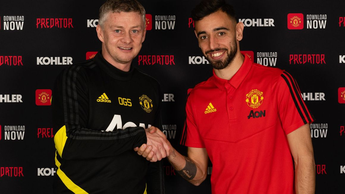 Bruno Fernandes signs for Manchester United from Sporting Lisbon | Football  News | Sky Sports