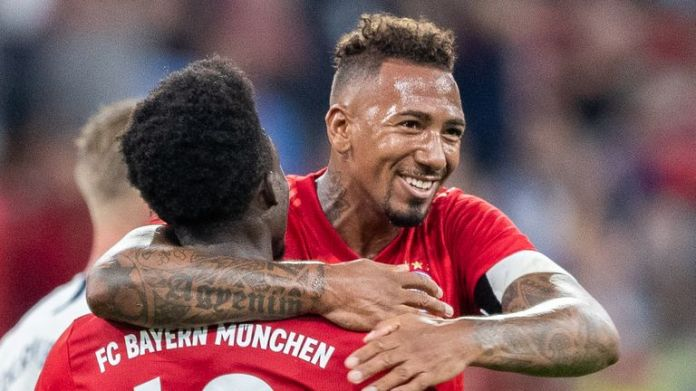Bayern Munich defender Jerome Boateng is a transfer target for Arsenal