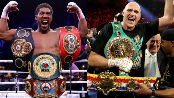 Anthony Joshua dan Tyson Fury
