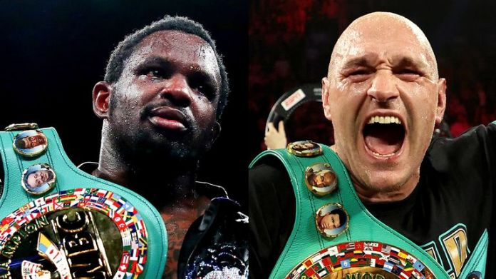 Dillian Whyte is a mandatory challenger for the WBC belt of Tyson Fury