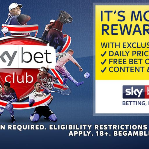 Have you opted into Sky Bet Club?