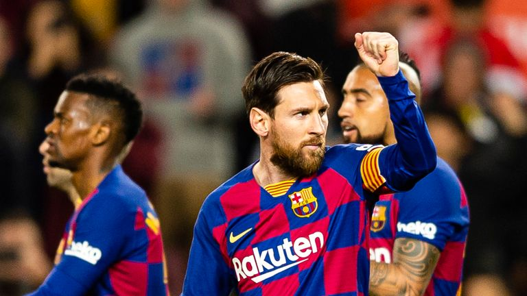 Barcelona will reduce the wages of staff and players to 'minimise the economic impact' of coronavirus.