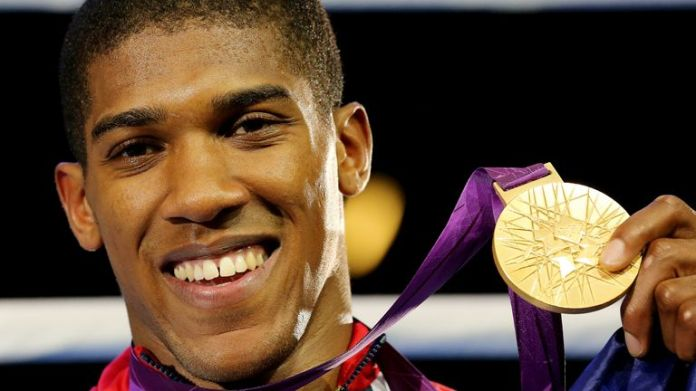 Joshua won Olympic super heavyweight gold in 2012