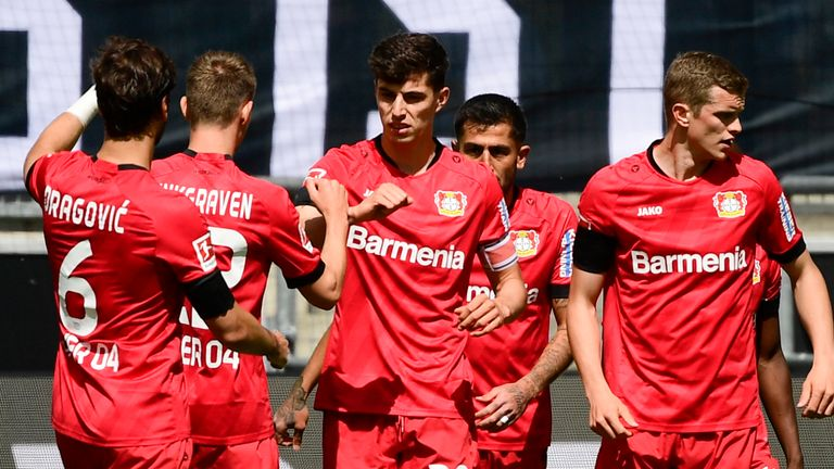 Kai Havertz scored another two goals in Bayer Leverkusen's win