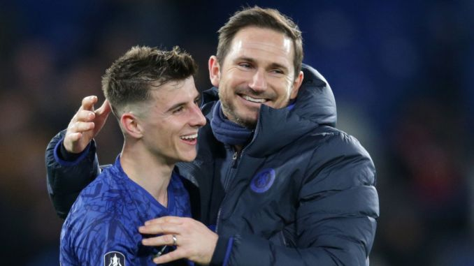 Frank Lampard has faith in Chelsea's Mason Mount | Football News ...