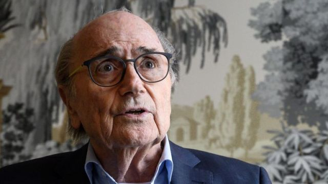 Sepp Blatter is allegedly the target of a criminal investigation in Switzerland