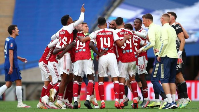 Arsenal have won each of their last seven FA Cup final appearances since 2002