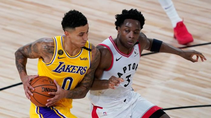 LA Lakers and the Toronto Raptors