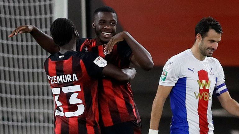 Bournemouth won a marathon penalty shootout against Crystal Palace