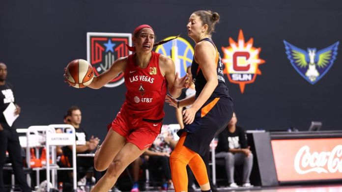 Las Vegas won both regular season meetings but have watched on as Connecticut dominated against higher seeds in the opening two rounds