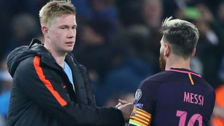 Lionel Messi: Kevin De Bruyne Unmoved By Potential Manchester City Move |  Football News | Sky Sports