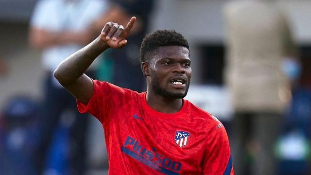 Thomas Partey: Arsenal sign midfielder from Atletico Madrid after meeting  £45m release clause | Football News | Sky Sports