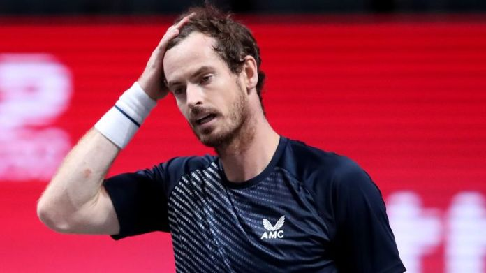 Andy Murray lost against Fernando Verdasco in Cologne last week