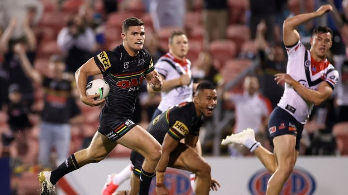 Nathan Cleary played a huge role in Penrith's run to the finals