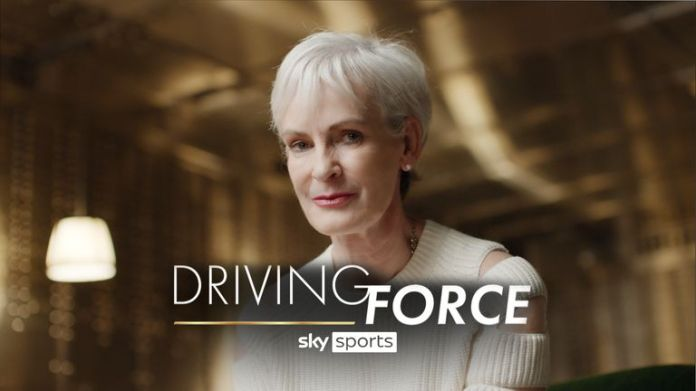 Judy Murray OBE will present a new Sky Sports docuseries 'Driving Force' which starts on November 24