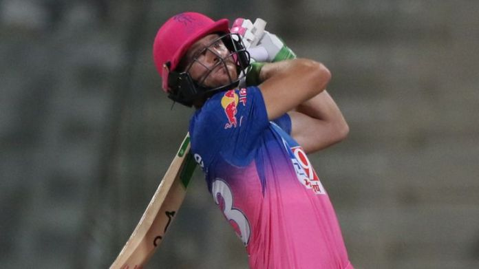 Jos Buttler moved into the middle order for Rajasthan Royals in the IPL, which he says was his idea