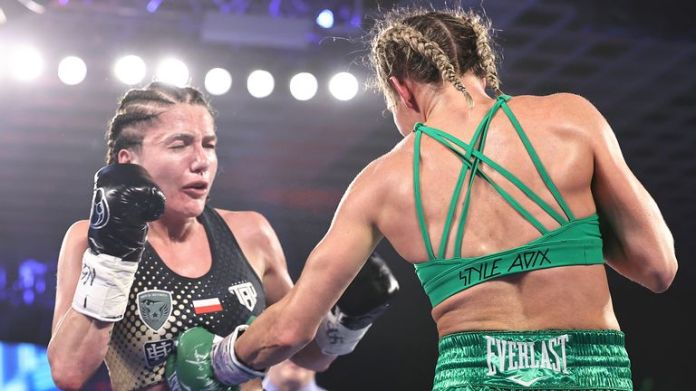 Mayer is now the undefeated WBO champion