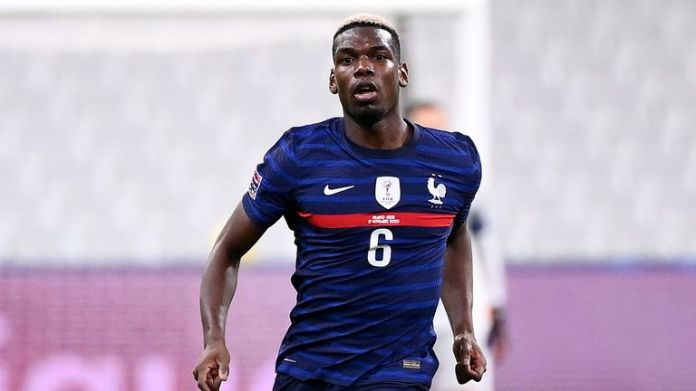 Paul Pogba took part in all three matches for France during the recent international break