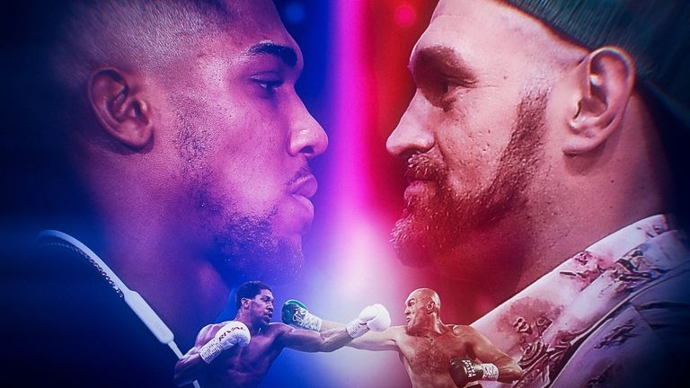 Joshua and Fury hold every major heavyweight belt
