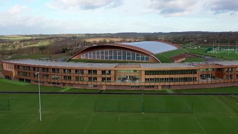 Leicester's new training ground
