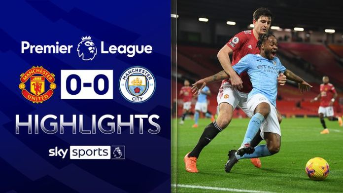 MANCHESTER UNITED 0-0 MANCHESTER CITY
