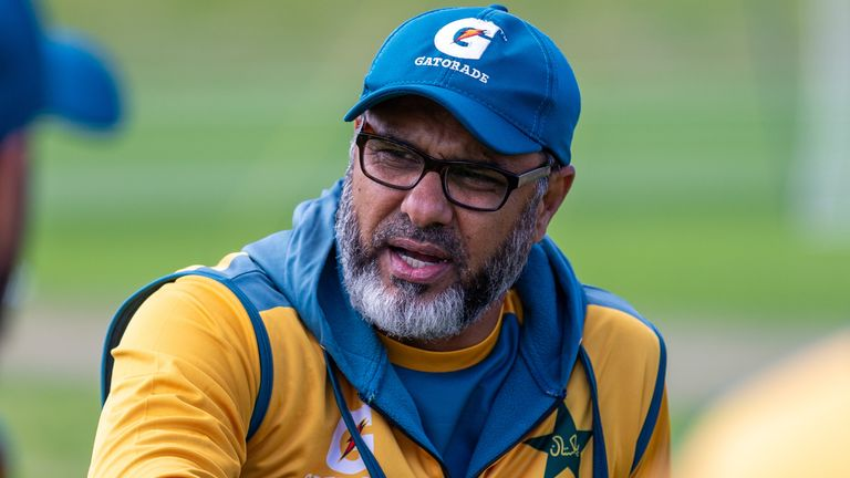 Pakistan bowling coach Waqar Younis has been granted leave to see his family and will departafter the first Test