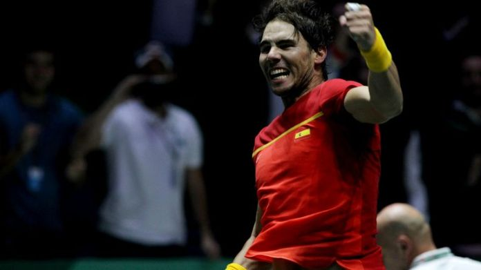 Rafael Nadal will be aiming to inspire Spain to more Davis Cup glory later this year