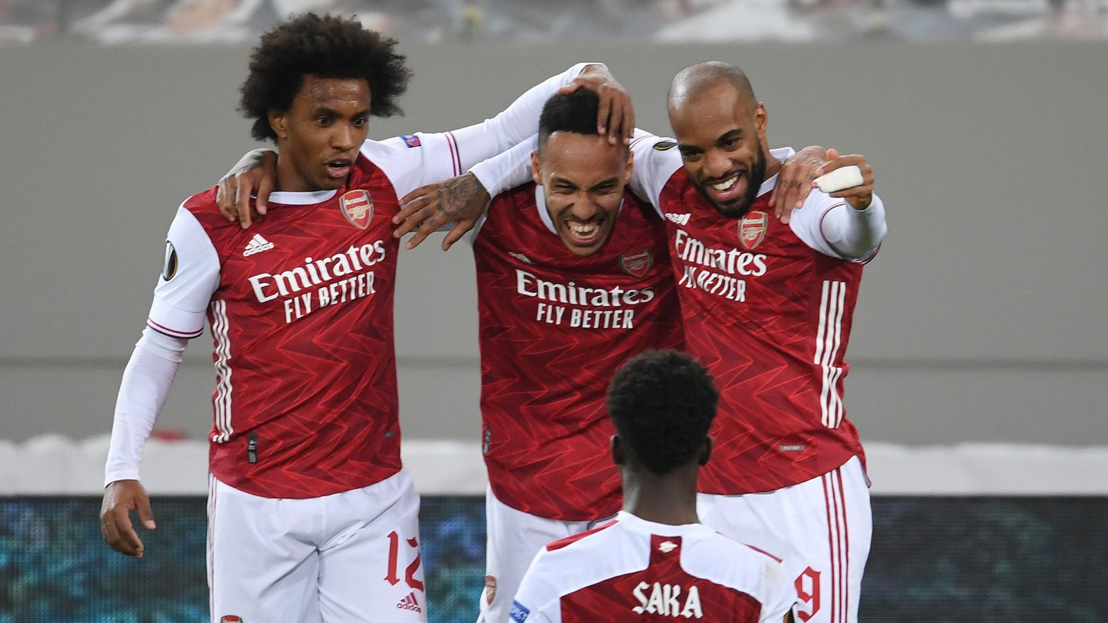 Arsenal 3-2 Benfica (4-3 agg): Pierre-Emerick Aubameyang saves Arsenal's campaign in the Europa League |  Football News