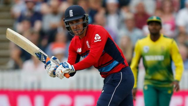Livingstone featured for England in their T20I series against South Africa in 2017