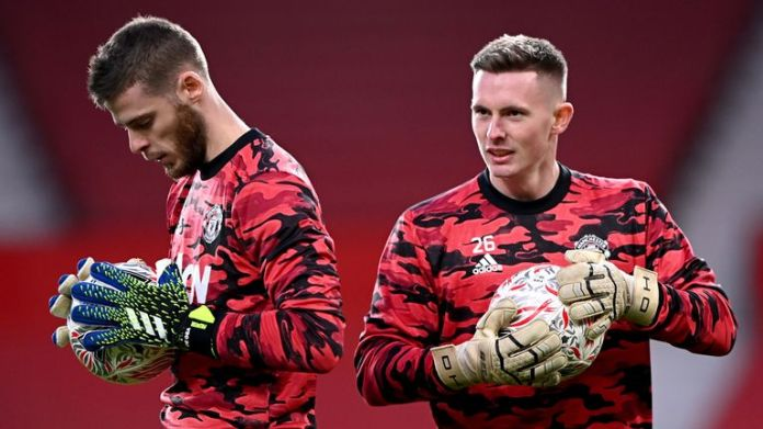 Henderson and David De Gea compete to be Manchester United's number one